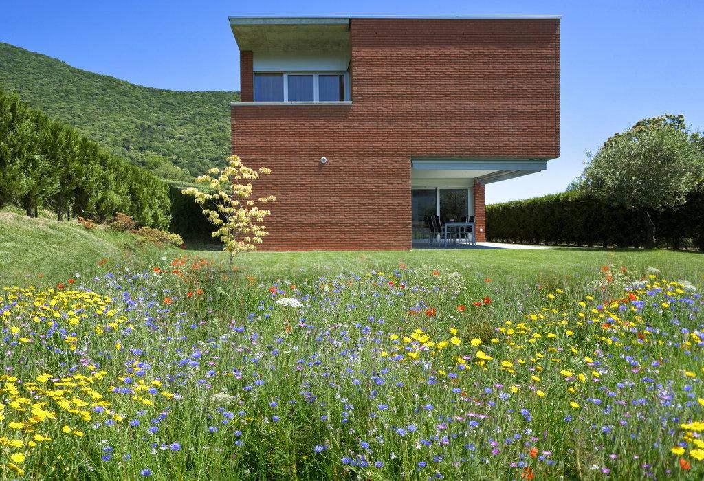 bloemenweide modern huis