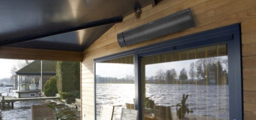 elektrische terrasverwarming