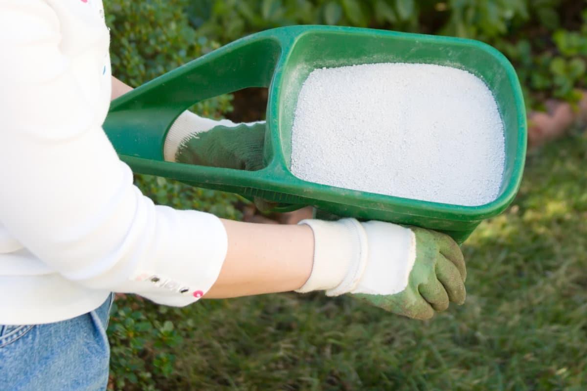 gazon bemesten met kalk