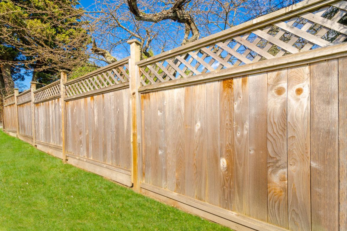 houten afsluitingen