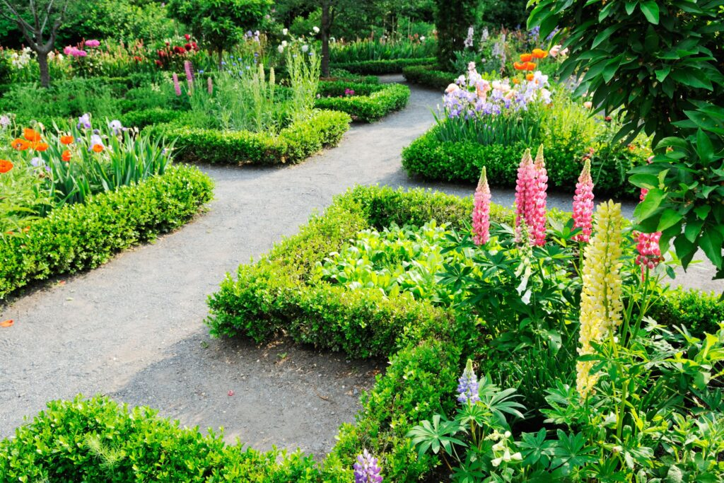 indelen tuin
