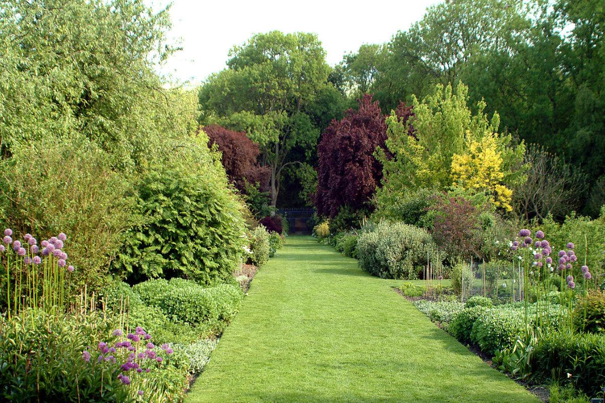 klassieke landelijke tuin