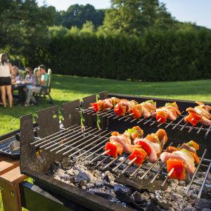 Voorbeeld houtskoolbarbecue
